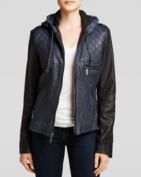 Michael by Michael Kors Jacket  Colorblock Quilted - Lyst