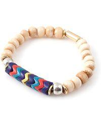 Vanessa Mooney Fawn Bracelet white - Lyst