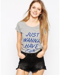 A Question Of - Just Wanna Have Fun T-Shirt - Lyst