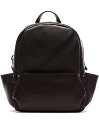 Calvin Klein Mens Soft Calf Backpack - Lyst