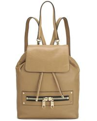 MILLY - Riley Leather Backpack - Lyst