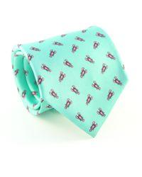 Reef Knots - Lobsters Silk Tie Turquoise - Lyst