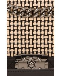 Madison Avenue Couture - Tweed Limited Edition Quilted Calfskin New Medium Boy Bag - Lyst
