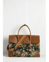 Nila Anthony - Clever Endeavor Weekend Bag In Bloom - Lyst