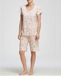 Carole Hochman - Garden Medley Bermuda Pyjama Set - Lyst