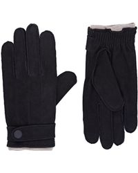 Theory - Suede Gloves - Lyst