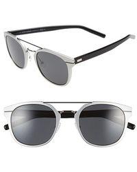 Dior 'Al 13.5S' 52Mm Sunglasses white - Lyst