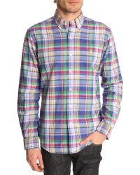 Polo Ralph Lauren Multicoloured Checked Double-Sided Slim Fit Shirt - Lyst