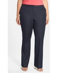 Halogen - Stretch Denim Trousers - Lyst