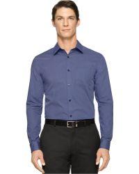 Calvin Klein Ticking-Stripe Shirt - Lyst