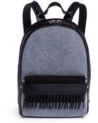 3.1 Phillip Lim - 'bianca' Mini Fringe Pocket Leather Backpack - Lyst