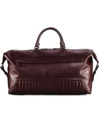 Ralph Lauren - Quilted Leather Duffel Bag - Lyst