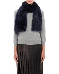 Barneys New York | Rabbit Fur Muffler | Lyst