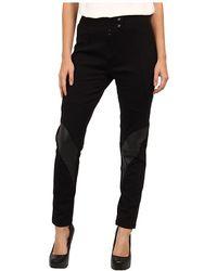 Balmain Skinny Cropped Pant - Lyst