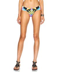 Mara Hoffman Side Ruched Bikini Bottom - Lyst