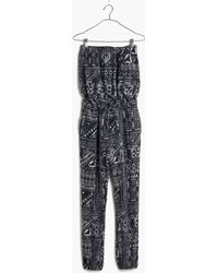 Madewell Kingston Cover-Up Jumpsuit In Inkspell - Lyst