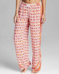 Kensie - Cameo Foulard Pyjama Trousers - Lyst