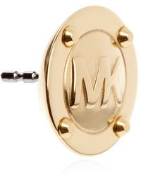 Michael Kors - Logo Stud Earrings - Lyst