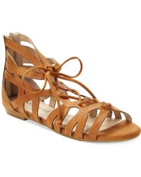 Rampage Dole Flat Sandals - Lyst