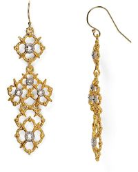 Alexis Bittar Elements Spur Lace Wire Earrings - Lyst