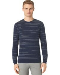 Calvin Klein Tonal Striped Sweater - Lyst