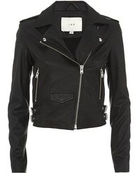 IRO Ashville Leather Biker Jacket - Lyst