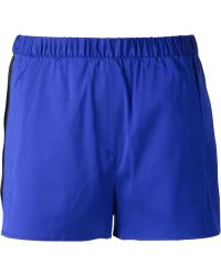 T By Alexander Wang Track Shorts - Lyst