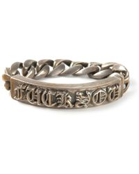 Lyst shop womens chrome hearts jewelry from 245 chrome hearts fuck you bracelet lyst aloadofball Images