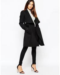 Warehouse - Belted Coat - Lyst