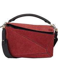 Loewe Puzzle Small Shoulder Bag - Lyst