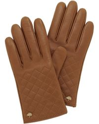 Mulberry Quilted Glove - Lyst
