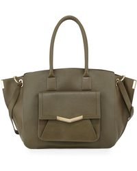 Time's Arrow Jo Leather Tote Bag - Lyst