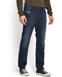 Diesel Mens Waykee 814w Regular Straight Jeans - Lyst