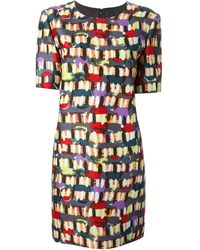 Marni Multicolor Printed Dress - Lyst
