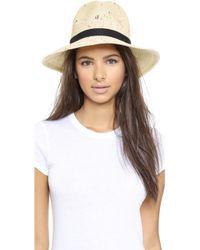 Eugenia Kim Courtney Hat - Ivory Multi - Lyst