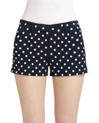 Diane Von Furstenberg Fran Embellished Shorts - Lyst