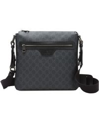 Gucci Gg Supreme Small Canvas Messenger Bag - Lyst