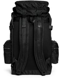 Tim Coppens - X Master-piece 'glory' Nylon And Leather Backpack - Lyst