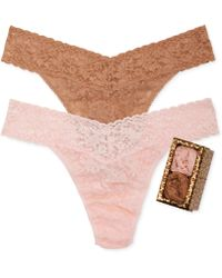 Hanky Panky Holiday Leopard Box Original Rise 2-pack 48leo2pk - Lyst