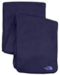 The North Face - 'denali' Thermal Scarf - Purple - Lyst