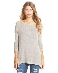 Volcom - 'free To Go' Crewneck Sweater - Lyst