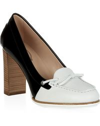 Tod's T90 Two-Tone Pump - Lyst