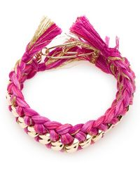 Aurelie Bidermann Do Brasil Bracelet - Lyst