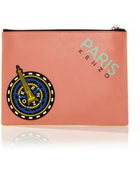 Kenzo Large Pouch - Lyst