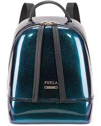 Furla - Mini Backpack Turchese - Lyst