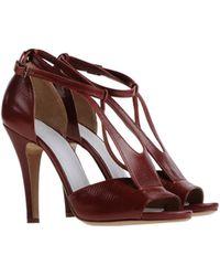 Maison Margiela Highheeled Sandals - Lyst