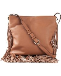 Rebecca Minkoff Kai Calf-Leather Cross-Body Bag - Lyst