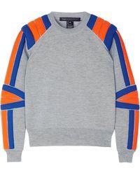 Marc By Marc Jacobs Grey Grady Sweater - Lyst