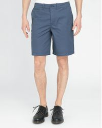 Fred Perry Blue Wash Classic Piping Bermuda Shorts blue - Lyst