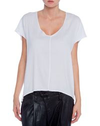 Felicite Double V Top - Lyst